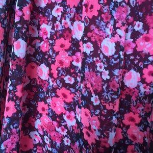 Express Tops - Bright pink summer tank top